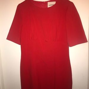 """🌷Gorgeous """" tulip"""" red dress 🌷size 8"""